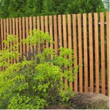 Строительство деревянных заборов без помощи профессионалов