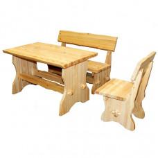 Столы и скамейки из сосны
