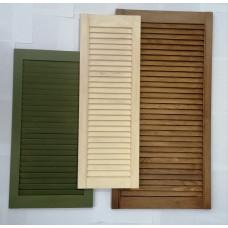 Услуга по окрашиванию жалюзийных дверей, мебельных фасадов